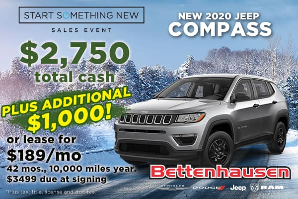Get into a Jeep Compass Now!
