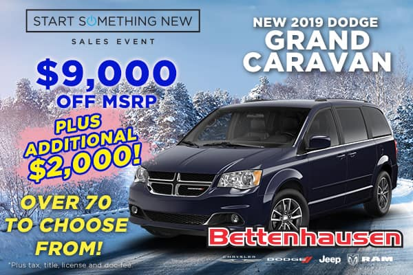 This Dodge Caravan Offer Can't Be Beat!!