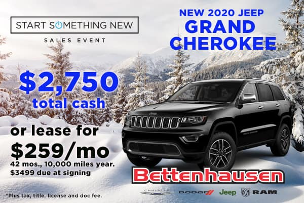 Don't Miss This Grand Cherokee Offer!