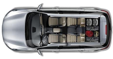 50/50 Split-Folding Third-Row Seats