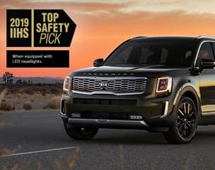 2020 TELLURIDE EARNS 2019 IIHS
