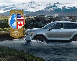2020 Telluride named 2020 North American Utility Vehicle of the Year