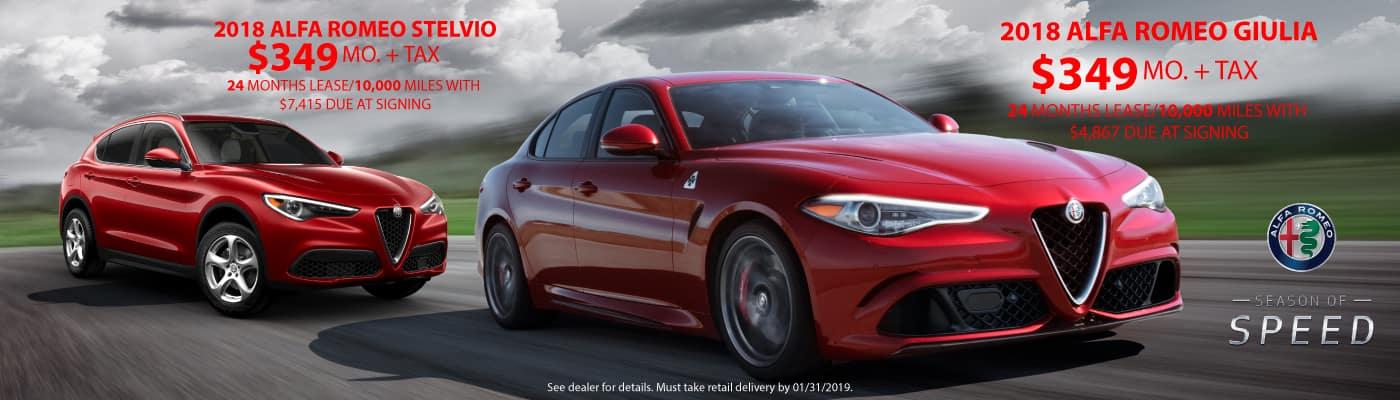 New Alfa Romeo Stelvio In Tempe Bill Luke Tempe