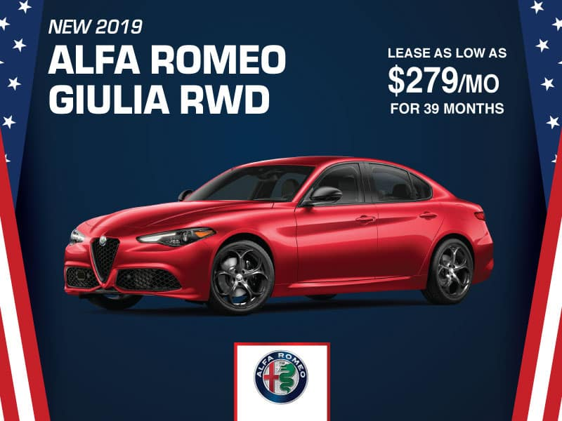 NEW 2019 ALFA ROMEO GIULIA RWD