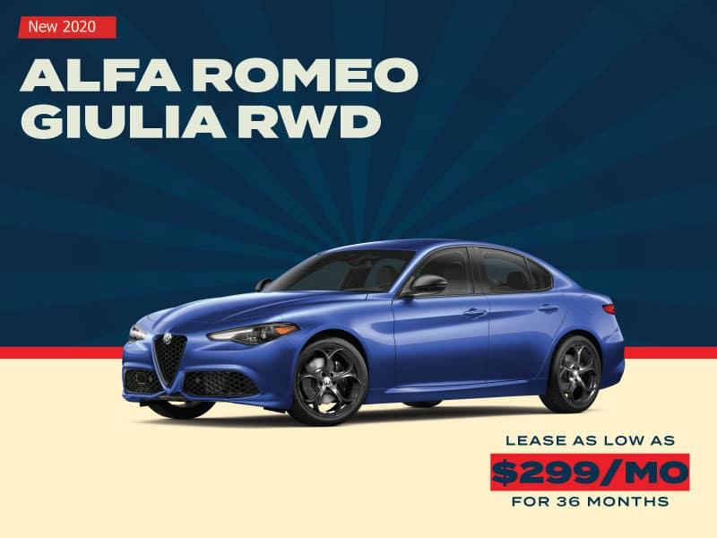 NEW 2020 ALFA ROMEO GIULIA RWD