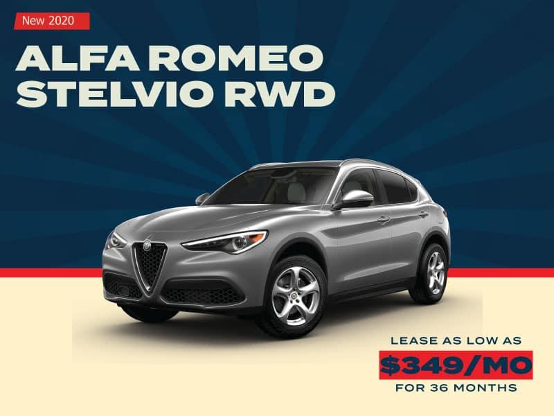 NEW 2020 ALFA ROMEO STELVIO RWD