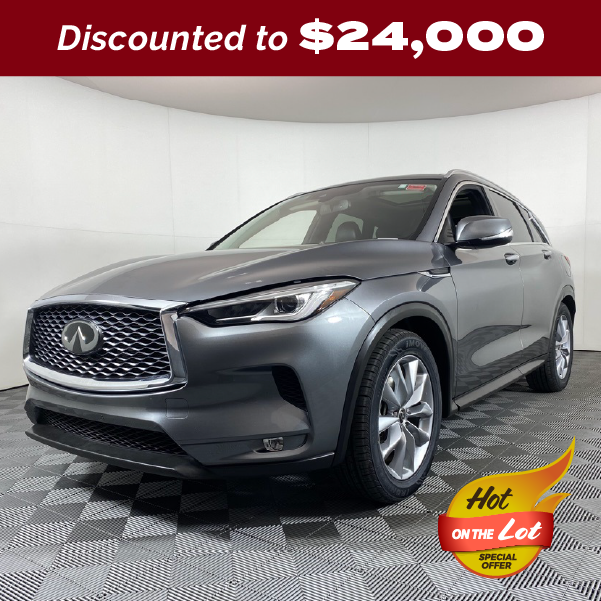 PRE-OWNED 2019 INFINITI QX50 LUXE FWD 4D SPORT UTILITY