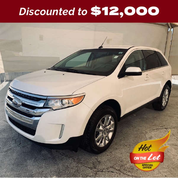 PRE-OWNED 2013 FORD EDGE LIMITED FWD 4D SPORT UTILITY