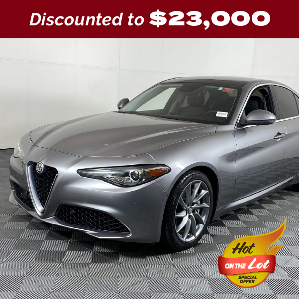PRE-OWNED 2017 ALFA ROMEO GIULIA TI RWD 4D SEDAN