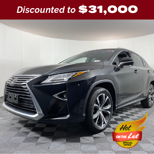 PRE-OWNED 2017 LEXUS RX 350 F SPORT FWD 4D SPORT UTILITY