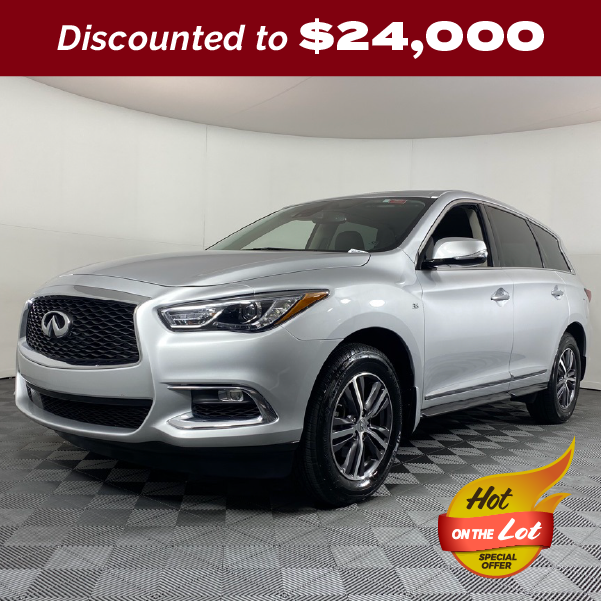 PRE-OWNED 2019 INFINITI QX60 PURE FWD 4D SPORT UTILITY