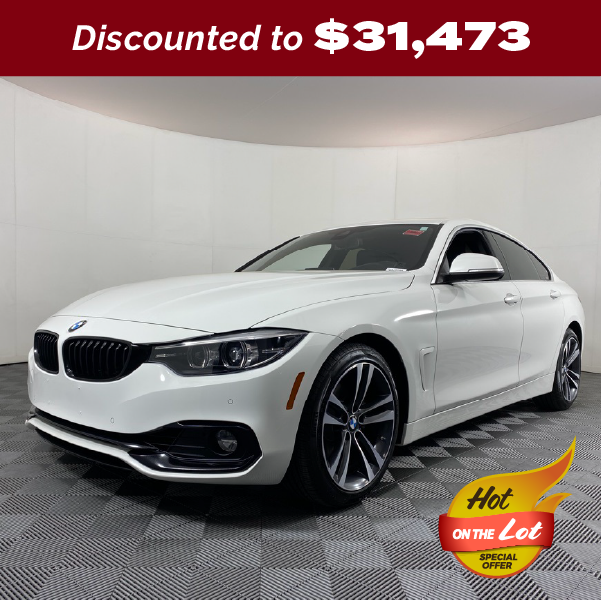 PRE-OWNED 2020 BMW 4 SERIES 430I GRAN COUPE RWD 4D HATCHBACK