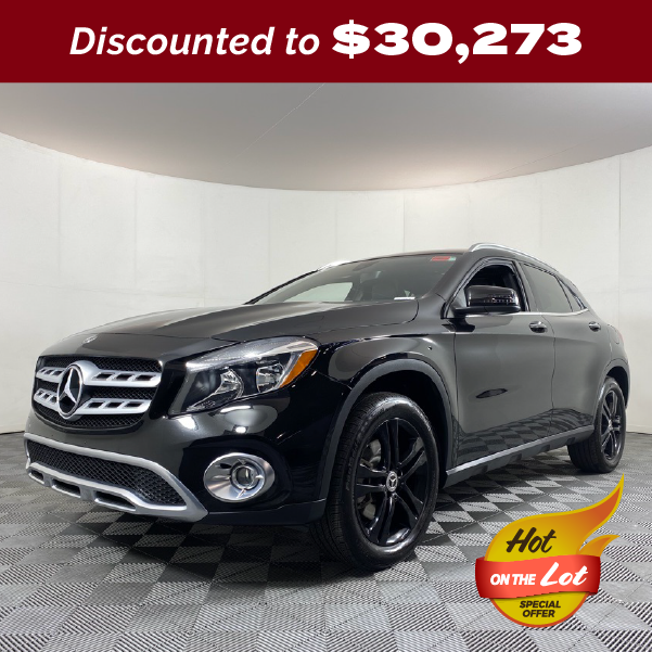 PRE-OWNED 2020 MERCEDES-BENZ GLA 250 4MATIC® 4D SPORT UTILITY