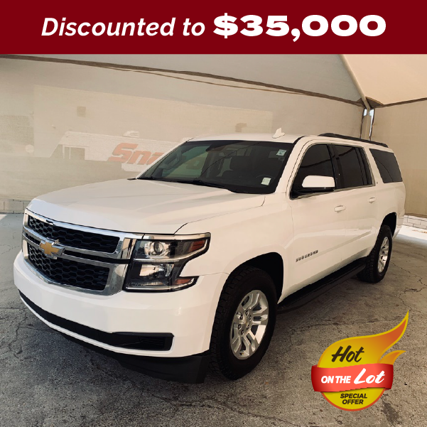 PRE-OWNED 2018 CHEVROLET SUBURBAN LT 4WD 4D SPORT UTILITY