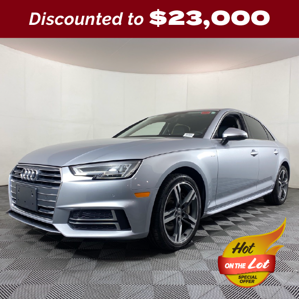 PRE-OWNED 2018 AUDI A4 2.0T PREMIUM PLUS QUATTRO 4D SEDAN