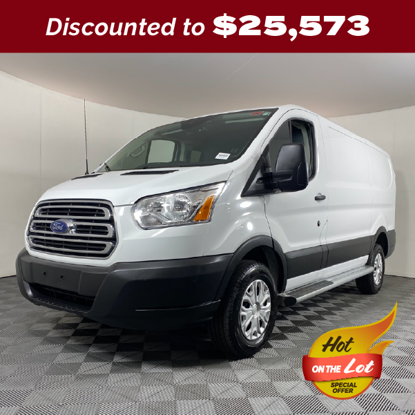 PRE-OWNED 2019 FORD TRANSIT-250 RWD 3D LOW ROOF CARGO VAN