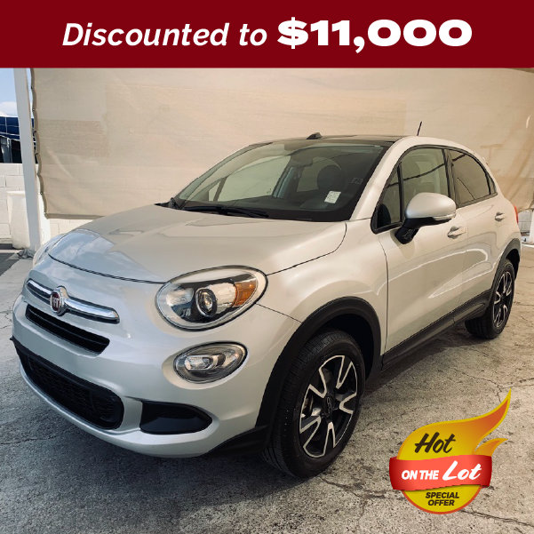 PRE-OWNED 2016 FIAT 500X EASY AWD 4D SPORT UTILITY