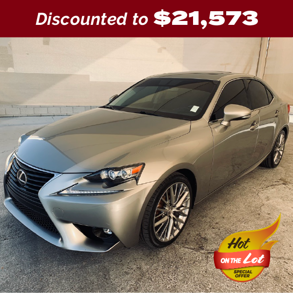 PRE-OWNED 2016 LEXUS IS 200T RWD 4D SEDAN