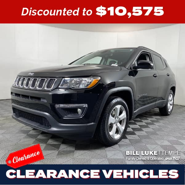 PRE-OWNED 2018 JEEP COMPASS LATITUDE FWD 4D SPORT UTILITY