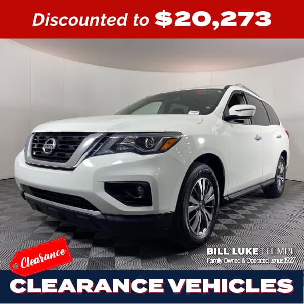 PRE-OWNED 2019 NISSAN PATHFINDER SL FWD 4D SPORT UTILITY