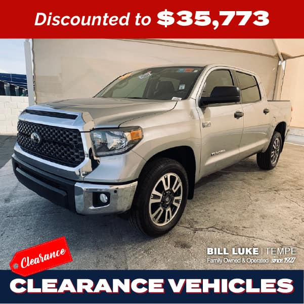 PRE-OWNED 2020 TOYOTA TUNDRA SR5 RWD 4D CREWMAX