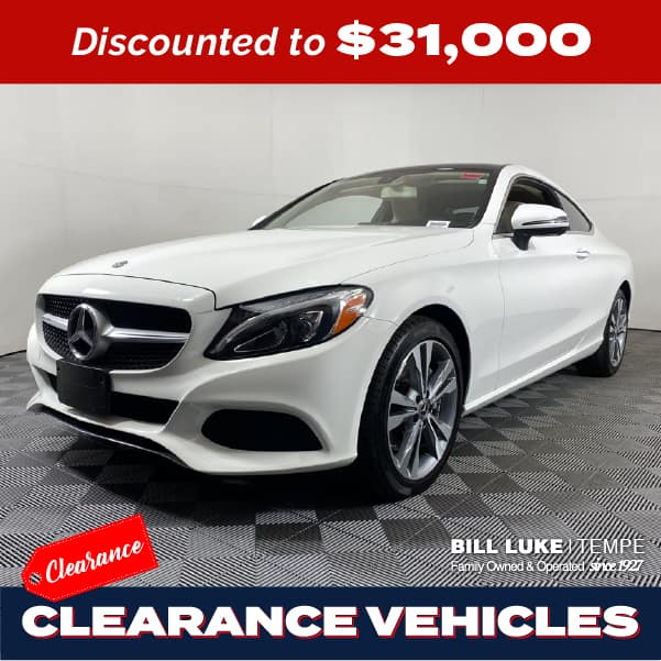 PRE-OWNED 2018 MERCEDES-BENZ C-CLASS C 300 RWD 2D COUPE