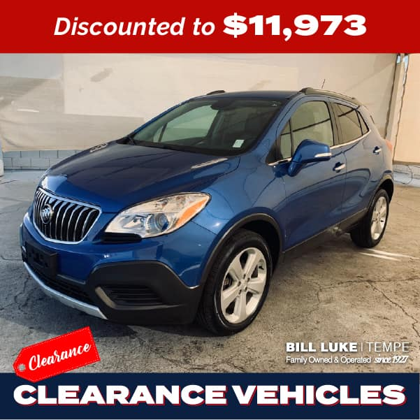PRE-OWNED 2016 BUICK ENCORE BASE AWD 4D SPORT UTILITY