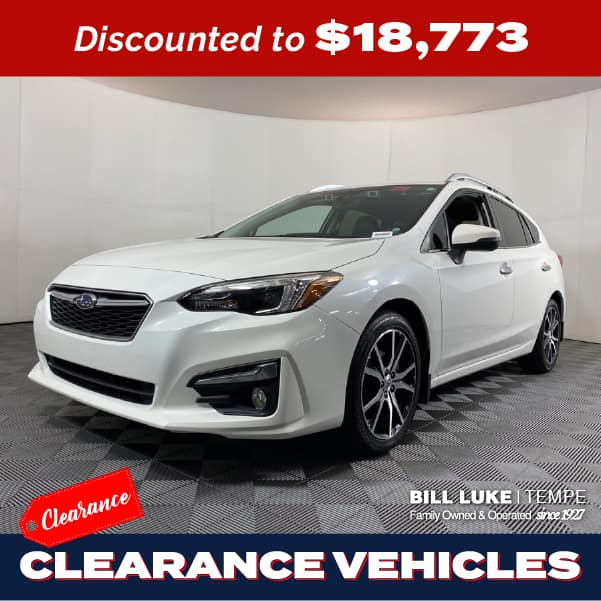 PRE-OWNED 2018 SUBARU IMPREZA 2.0I LIMITED AWD 4D HATCHBACK