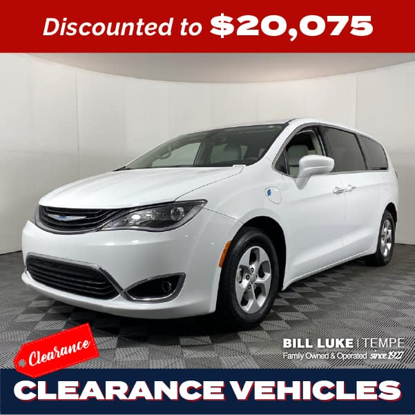 PRE-OWNED 2018 CHRYSLER PACIFICA HYBRID TOURING PLUS FWD 4D PASSENGER VAN