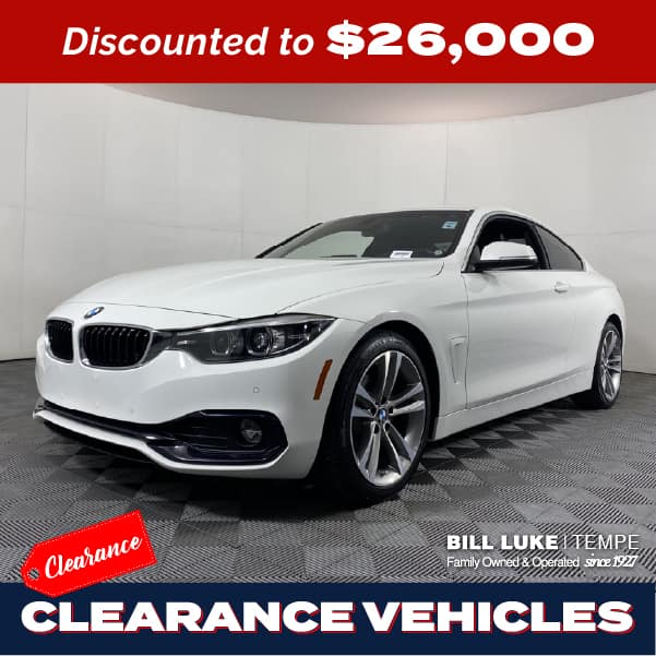 PRE-OWNED 2018 BMW 4 SERIES 430I RWD 2D COUPE