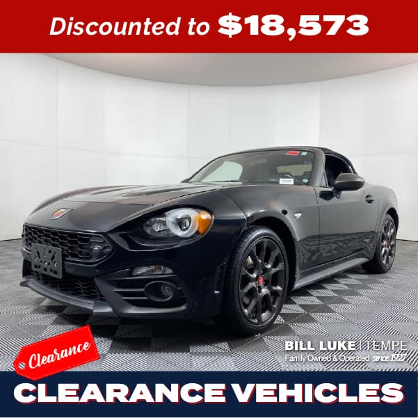 CERTIFIED PRE-OWNED 2017 FIAT 124 SPIDER ABARTH RWD 2D CONVERTIBLE