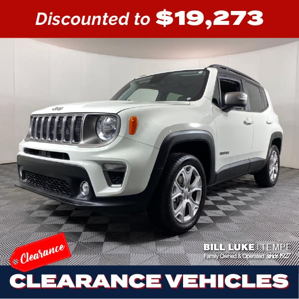 PRE-OWNED 2019 JEEP RENEGADE LIMITED 4WD 4D SPORT UTILITY