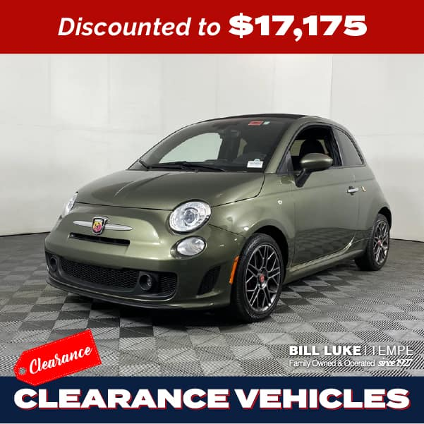 PRE-OWNED 2018 FIAT 500C ABARTH FWD 2D CONVERTIBLE