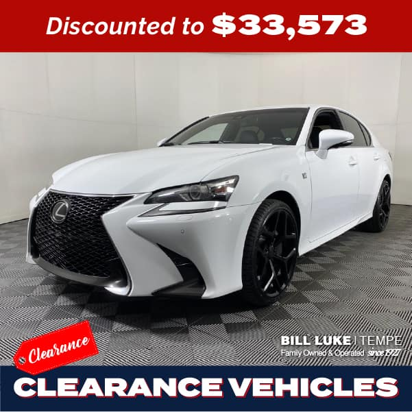 PRE-OWNED 2017 LEXUS GS 350 F SPORT AWD 4D SEDAN