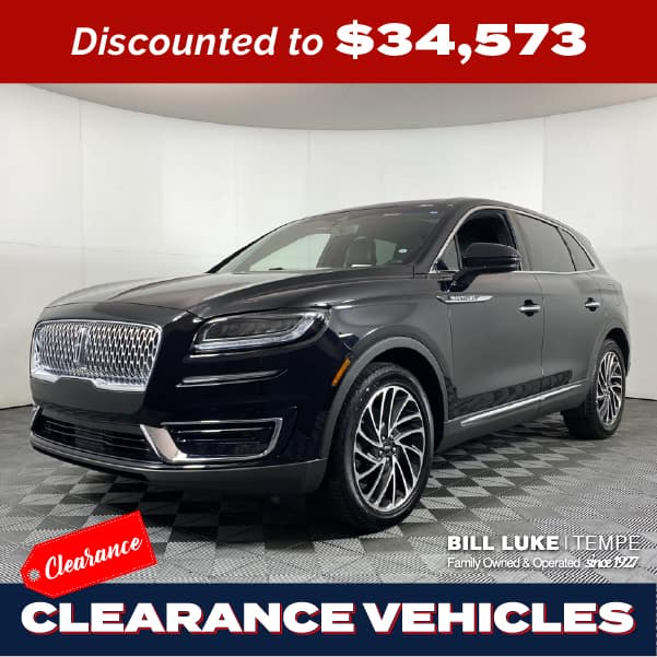 PRE-OWNED 2019 LINCOLN NAUTILUS RESERVE FWD 4D SPORT UTILITY