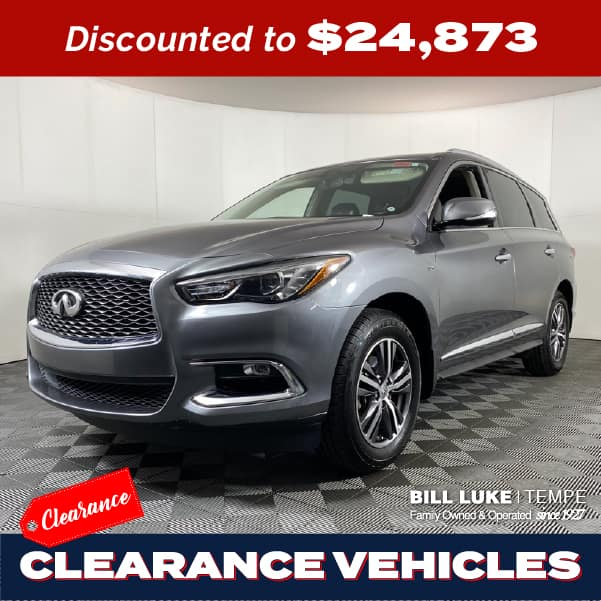 PRE-OWNED 2017 INFINITI QX60 FWD 4D SPORT UTILITY