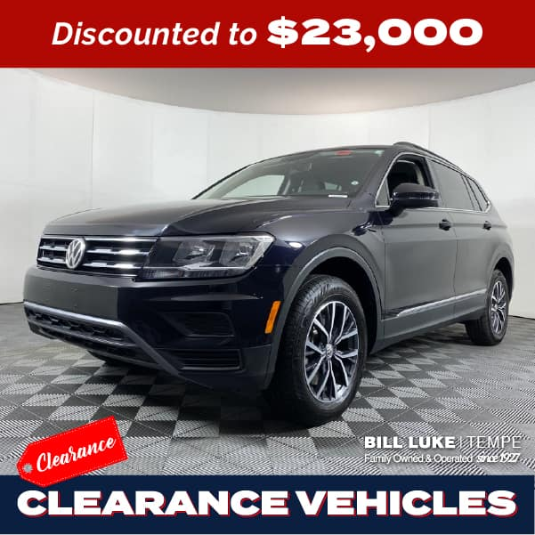 PRE-OWNED 2020 VOLKSWAGEN TIGUAN 2.0T SE 4MOTION AWD 4D SPORT UTILITY