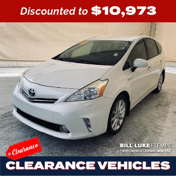 PRE-OWNED 2013 TOYOTA PRIUS V FIVE FWD STATION WAGON