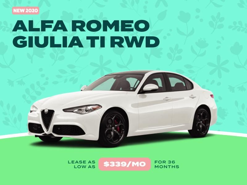 NEW 2020 ALFA ROMEO GIULIA TI RWD