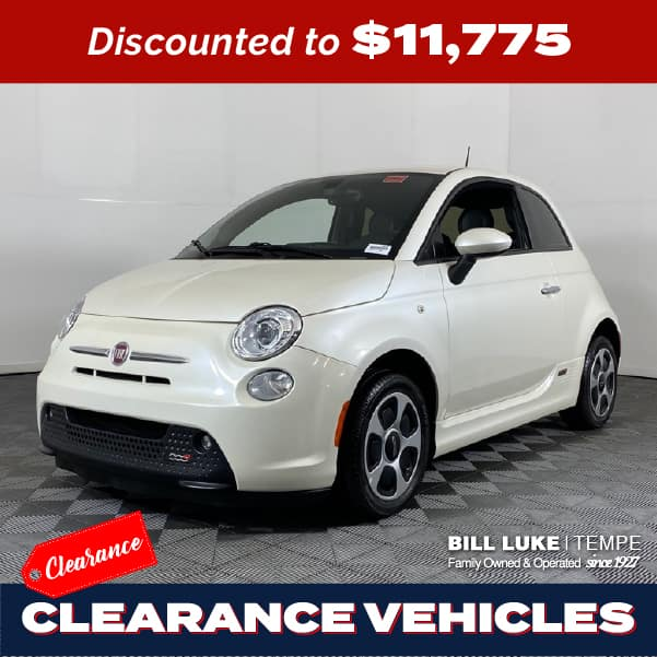 PRE-OWNED 2018 FIAT 500E BATTERY ELECTRIC FWD 2D HATCHBACK