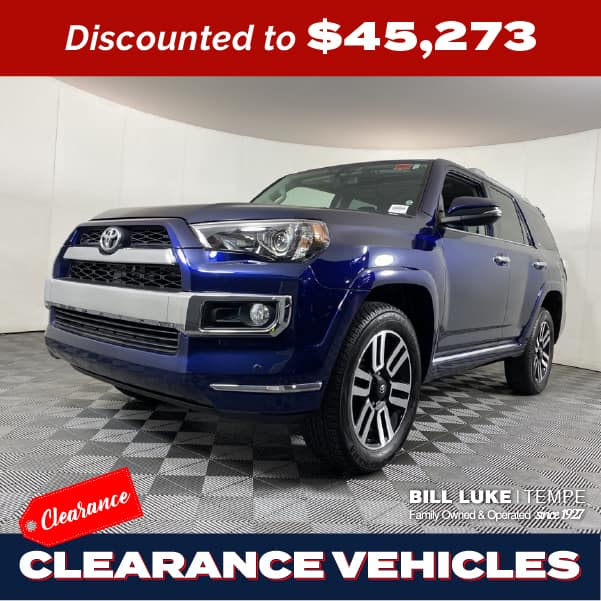 PRE-OWNED 2019 TOYOTA 4RUNNER LIMITED 4WD 4D SPORT UTILITY