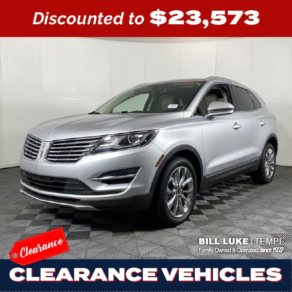 PRE-OWNED 2018 LINCOLN MKC SELECT FWD 4D SPORT UTILITY