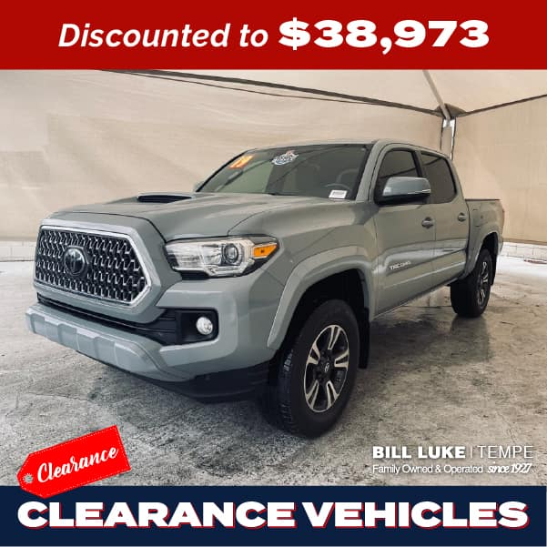 PRE-OWNED 2019 TOYOTA TACOMA TRD SPORT V6 4WD 4D DOUBLE CAB