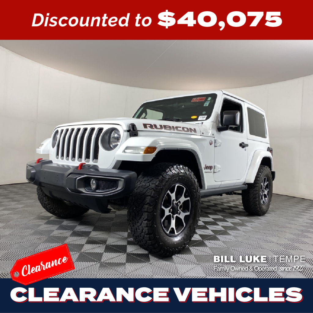 PRE-OWNED 2020 JEEP WRANGLER RUBICON 4WD 2D SPORT UTILITY