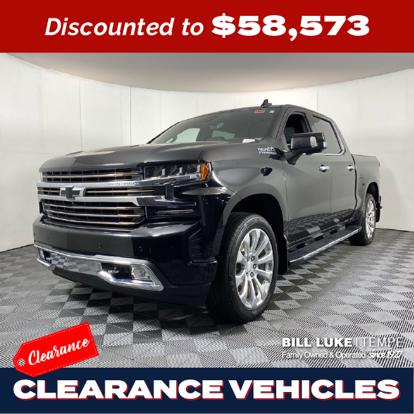 PRE-OWNED 2020 CHEVROLET SILVERADO 1500 HIGH COUNTRY 4WD 4D CREW CAB