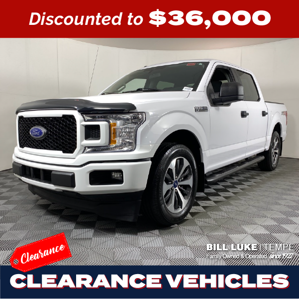 PRE-OWNED 2019 FORD F-150 XL STX RWD 4D SUPERCREW