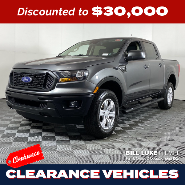PRE-OWNED 2019 FORD RANGER XL STX RWD 4D CREW CAB