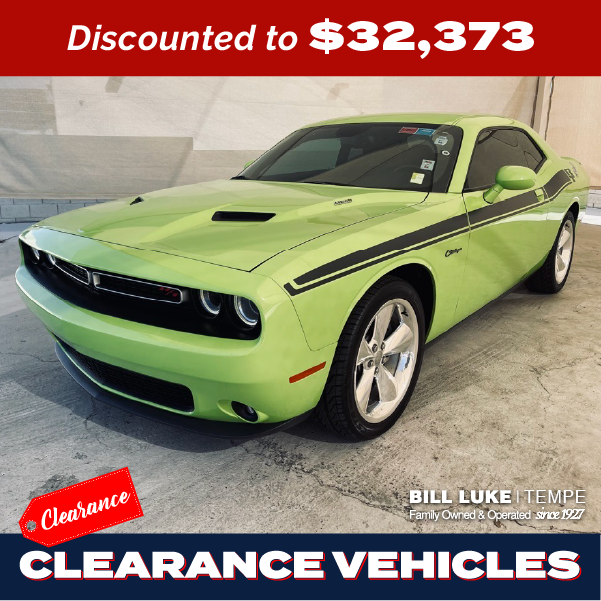 PRE-OWNED 2015 DODGE CHALLENGER R/T PLUS RWD 2D COUPE