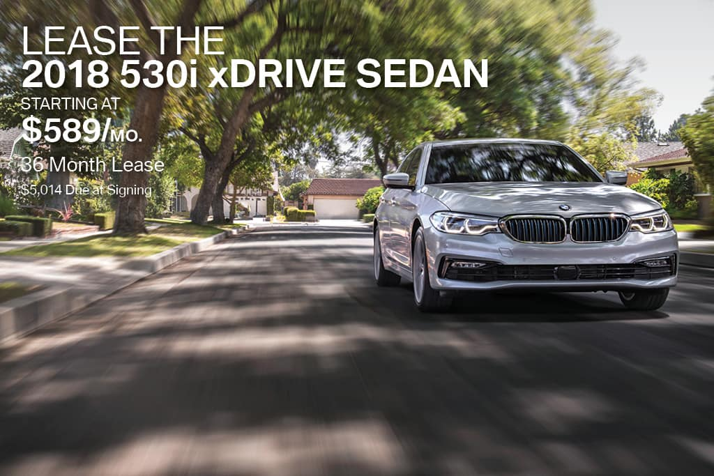 New 2018 BMW 5 Series Lease Offer BMW of Bayside