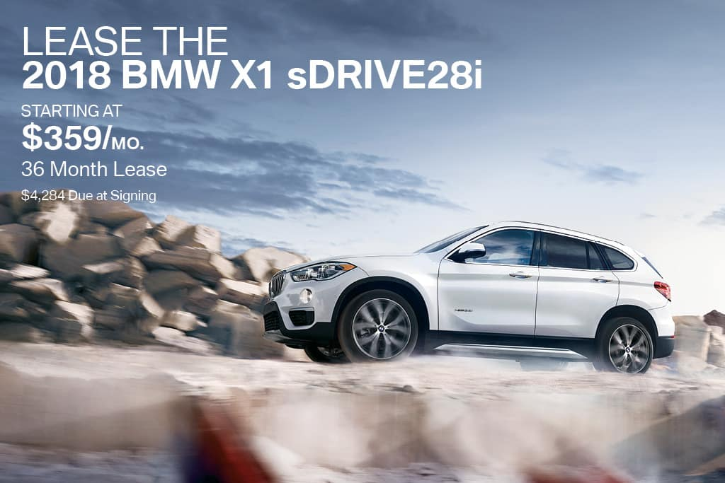 New 2018 BMW X1 Lease Offer BMW of Bayside